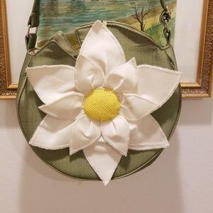 Handbags - Daisy handcrafted Thai satin purse